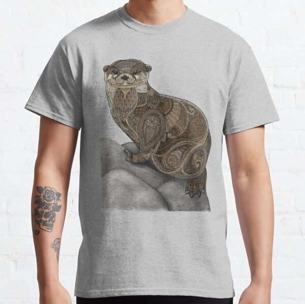 Otter Tangle Classic T-Shirt