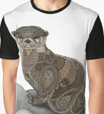 Otter Tangle Graphic T-Shirt