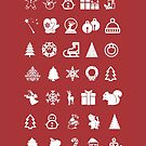 «Red Icons Xmas» de Rubén Hoyu