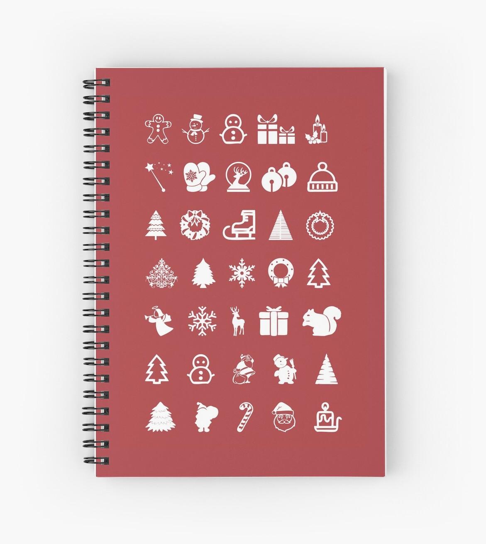 «Red Icons Xmas» de Rubén Hoyu