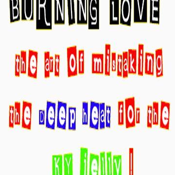 Burning love by AdeBoz