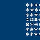 «Snowflakes» de Rubén Hoyu