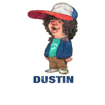 Stranger Things Dustin Name by Prophecyrob