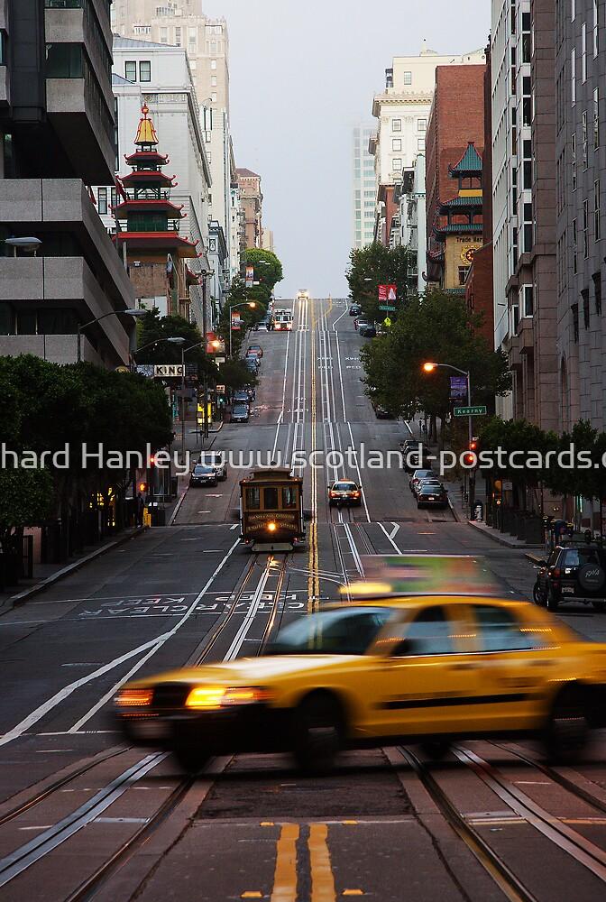 Streets Of San Francisco by Richard Hanley www.scotland-postcards.com