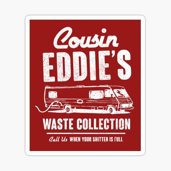 Cousin Eddie's Waste Collection Sticker