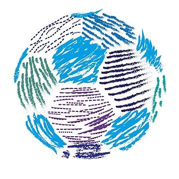 Soccer ball by marmota