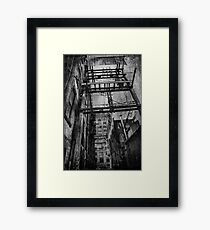 THERE ONCE WAS A CITY Framed Print