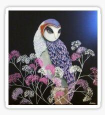 Barn Owl By Noelia Garcia  Sticker
