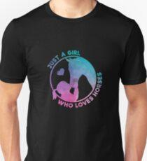 Equestrian Women Girls Love Their Horses Gift Unisex T-Shirt