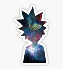 Rick and morty tv show's Sticker