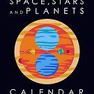 Space, Stars & Planets Calendar by jezkemp