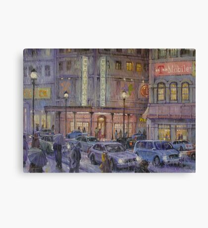 Internet Cafe Canvas Print