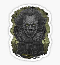 Pelicula del Payaso Sticker