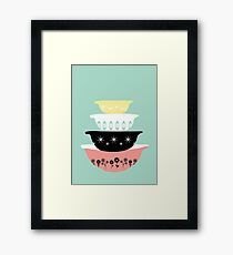 Pyrex Pretties Framed Print