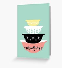 Pyrex Pretties Greeting Card