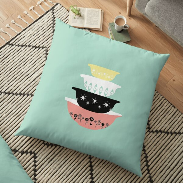 Pyrex Pretties Floor Pillow