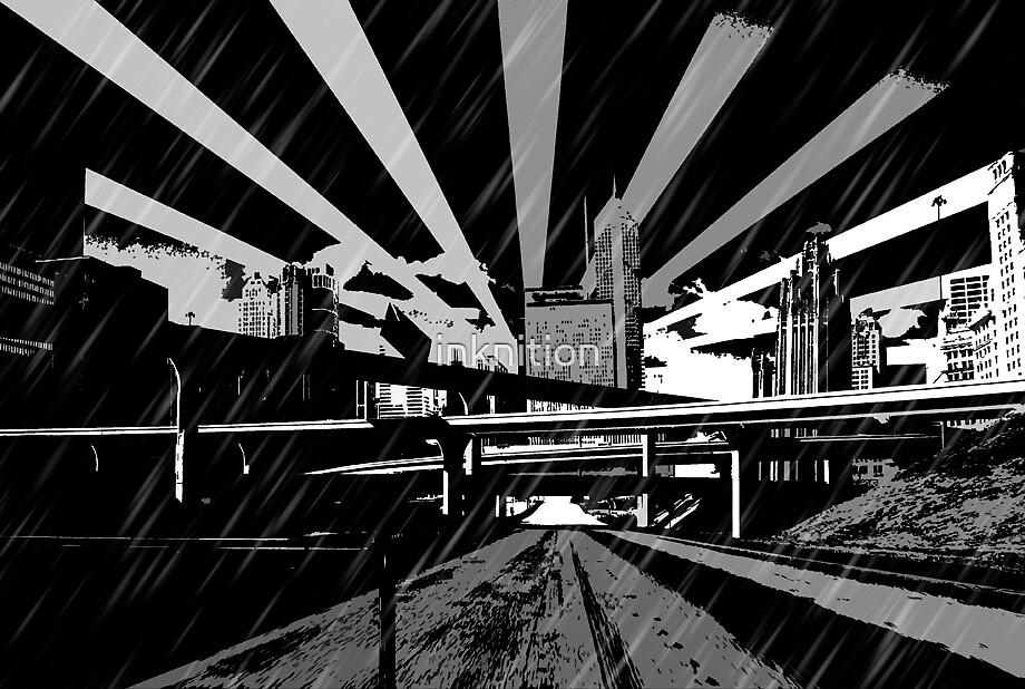 Dark City by inknition