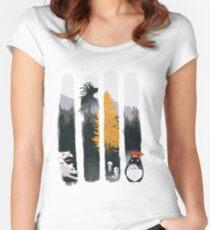 Waldschützer Tailliertes Rundhals-Shirt
