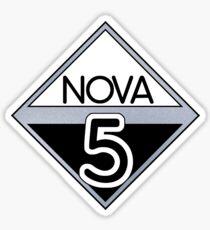 NOVA 5 (Red Dwarf) Sticker