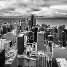 Chicago's North side from the 70th floor by Sven Brogren