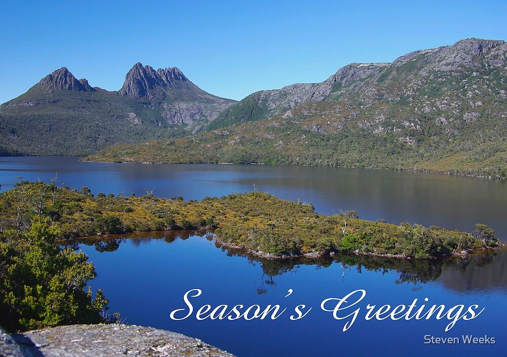 Dove Lake, Season's Greetings by Steven Weeks
