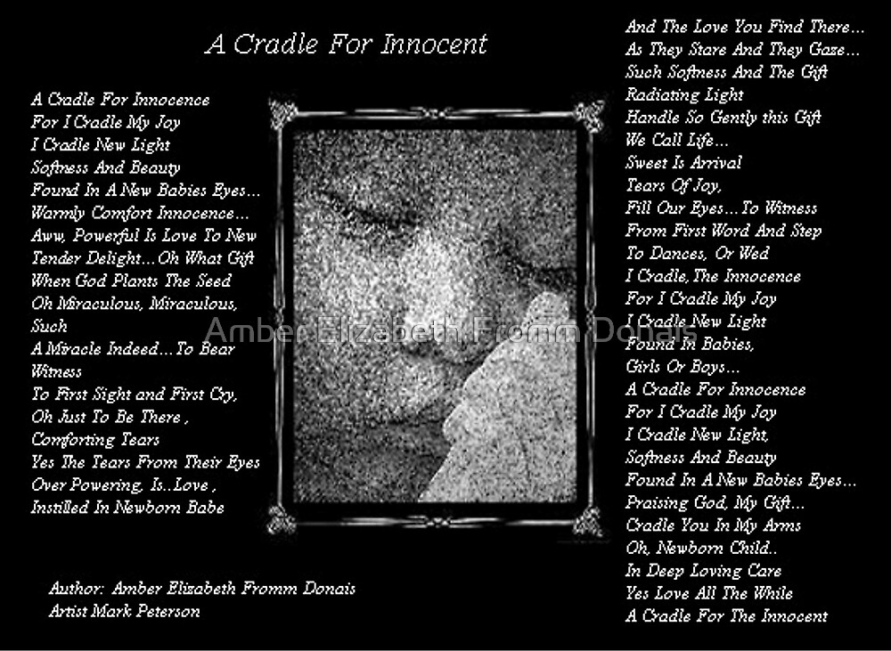 A Cradle For Innocent by Amber Elizabeth Fromm Donais