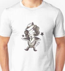 Sailor Jerry Traditional Tattoo Sailor Girl T-Shirt