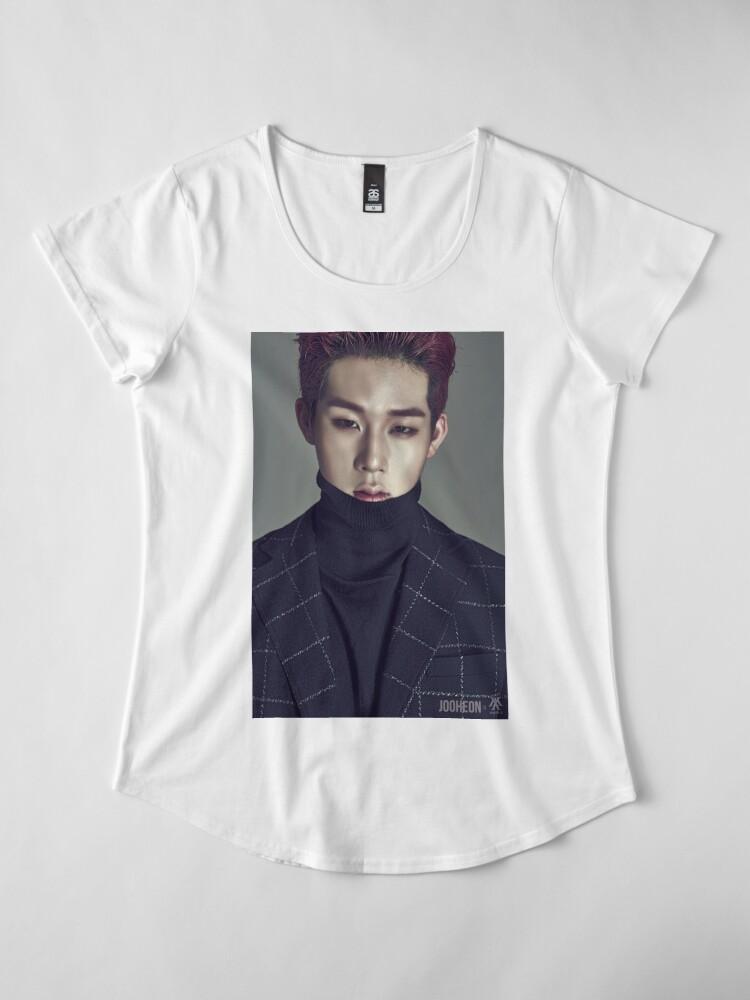 Alternative Ansicht von Monsta X Jooheon Premium Rundhals-Shirt