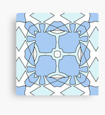 Blue Utopia Canvas Print