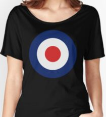 Pop Culture Roundel Women's Relaxed Fit T-Shirt