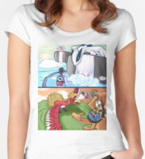 Dawn and Dusk Women's Fitted Scoop T-Shirt