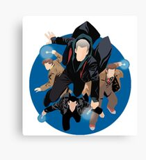 the doctors doctor who Canvas Print