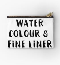 Watercolour and Fine Liner Studio Pouch