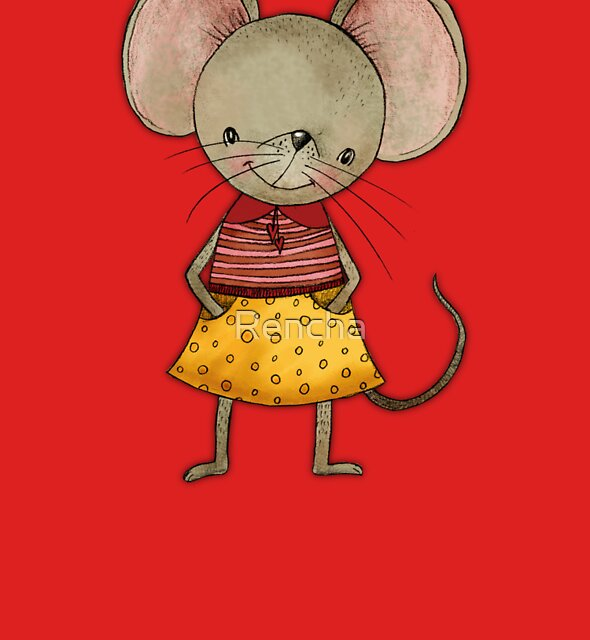 Danooshka - Fabric Designer Mouse by Rencha