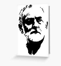 Jeremy Corbyn Labour Greeting Card