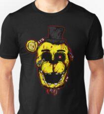 Bloody Golden Freddy FNAF Slim Fit T-Shirt