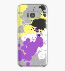 Paint Splatter (Nonbinary) Samsung Galaxy Case/Skin