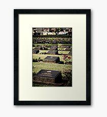 Prisoner of War - Kanchanaburi, Thailand Framed Print