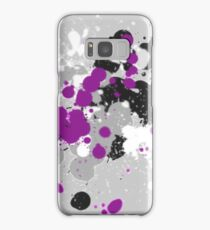 Paint Splatter (Asexual) (v.1) Samsung Galaxy Case/Skin