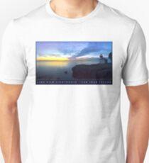 Lime Kiln Lighthouse Travel Poster T-Shirt