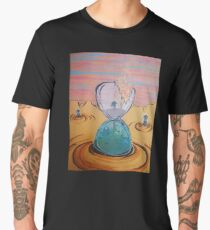 The Sun Is The Same acrylic painting Men's Premium T-Shirt