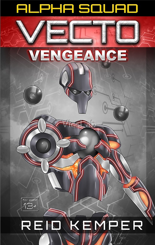 Vecto: Vengeance Book Cover by VicsLab