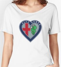 I <3 Alfa Romeo Women's Relaxed Fit T-Shirt