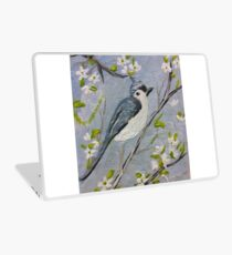 Bird on a branch  Laptop Skin