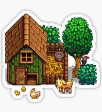 Stardew Valley - Chicken Coop Sticker