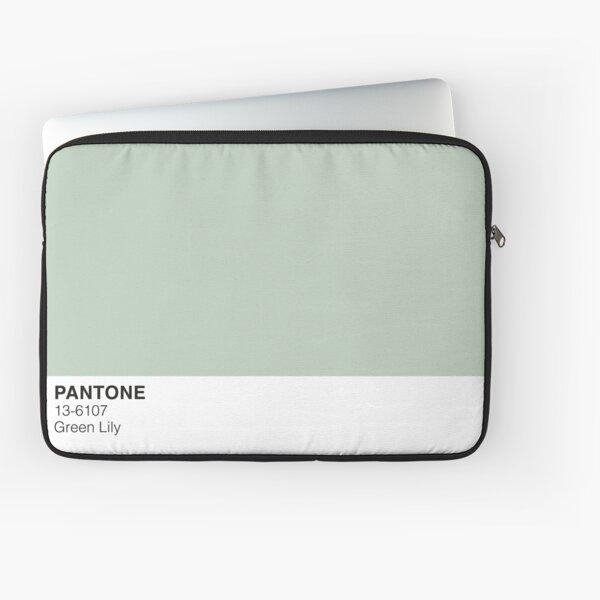 Green Lily Pantone Laptop Sleeve