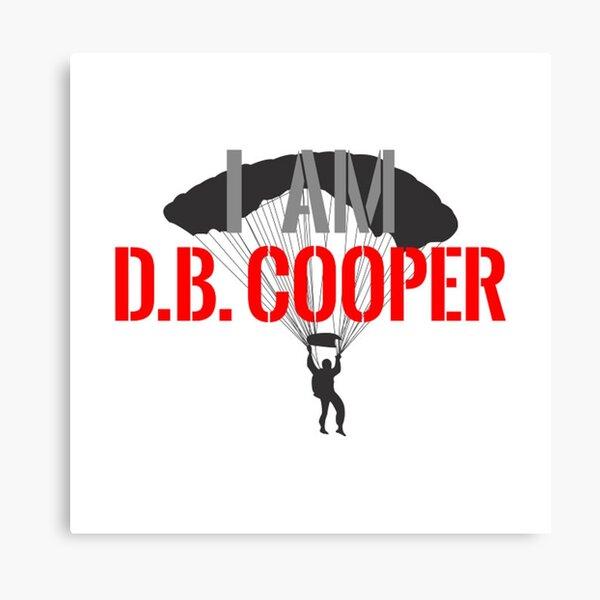 I am DB Cooper - Unsolved Canvas Print