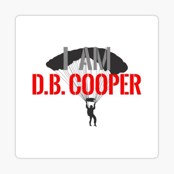 I am DB Cooper - Unsolved Sticker