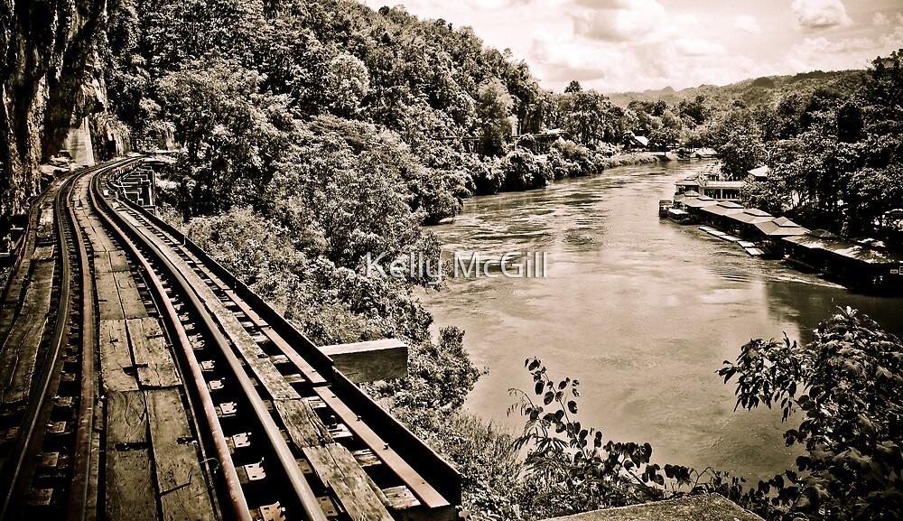 River Kwai & the Death Railway, Thailand by Kelly McGill