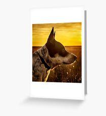 Angel Dog Greeting Card